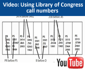 Video tutorial: Using Library of Congress call numbers
