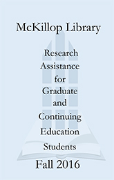 Research Assistance for Graduates