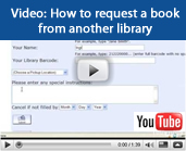 Video tutorial: How to request books from other libraries