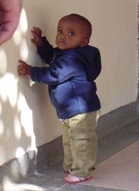 Child at Nyumbani Orphanage