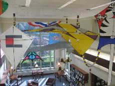 Kites in Library
