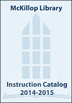 Library Instruction Catalog