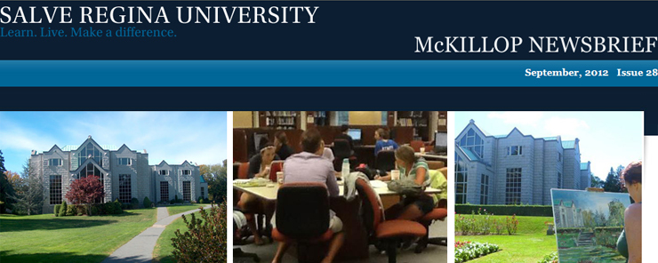 Link to Mckillop Library homepage