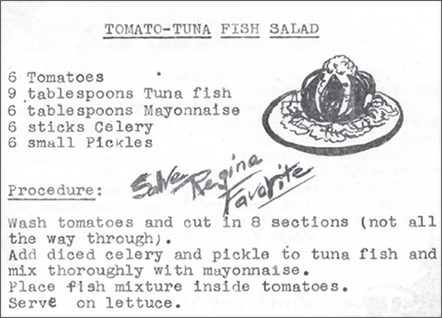 Recipe - Tuna Salad