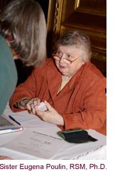 Sister Eugena Poulin, RSM, Ph.D.