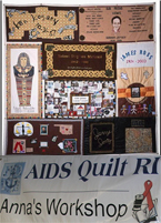 AIDS quilts, RI