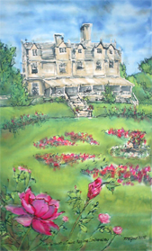 Wakehurst - Painting on Silk