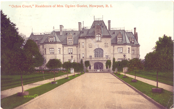 Ochre Court postcard
