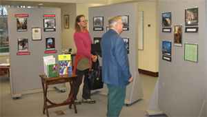 IEW Exhibit in library