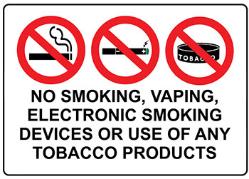 no tobacco products