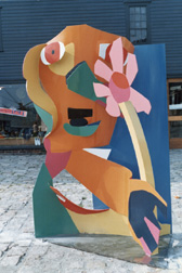 Man with Flower, 1971